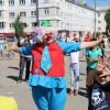 В Новомосковске прошла общегородская зарядка