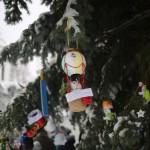 В Свято-Успенском мужском монастыре подвели итоги конкурса на лучшую новогоднюю игрушку