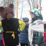 В Новомосковске празднуют Масленицу