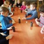 Детские интерактивные площадки «Новые горизонты». Мастер-класс «Маленький химик» с использованием воды, масла и краски