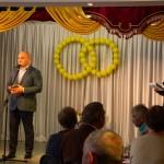 В юбилейном для города году 23 пары новомосковцев отмечают золотые свадьбы