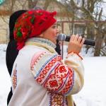 В Городском парке Новомосковска прошли традиционные масленичные гуляния